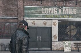 Long Mile Hunting Supplies Exterior
