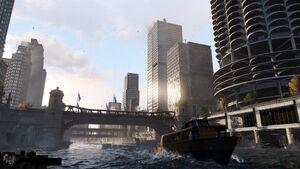 Река Чикаго