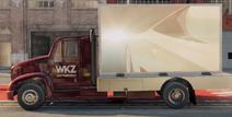 Media truck side