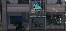Quid Pro Quo Guns Front Exterior