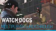 Watch Dogs - 9 minutes Multiplayer Gameplay Demo UK