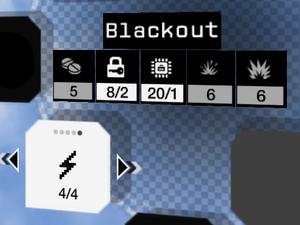 Blackout selection