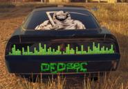 DedSec car rear
