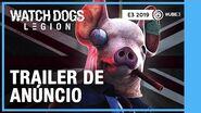 TRAILER CINEMÁTICO - Watch Dogs Legion