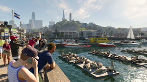 Watch Dogs 2 Screenshot Fisherman's Wharf