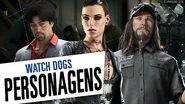 Watch Dogs - Conheça os Personagens Legendado