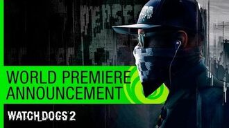 Watch Dogs 2 World Premiere Announcement - E3 2016 US