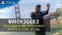 Watch Dogs 2 - Эксклюзивный предзаказ в PS Store RU