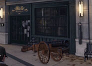 DB&R Weaponsmiths (Store-Front)-WatchDogs
