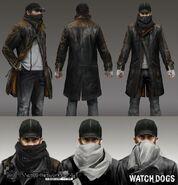 Watch Dogs - Concept Art d'Aiden
