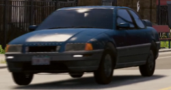 Late 80's Coupe (Front)-WatchDogs