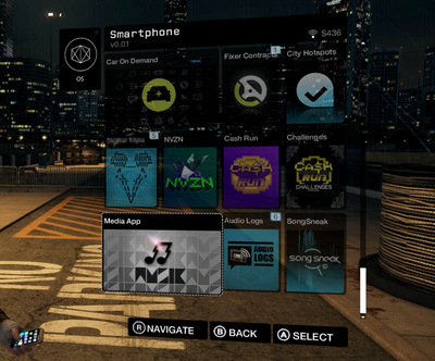 Smartphone (Contextual Interface)-WatchDogs