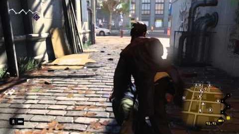 Watch Dogs - PS4 Open World Gameplay Premiere DE