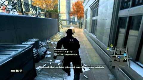 Watch Dogs Walkthrough - Part 142 - Privacy Invasion Fixer Contract (Data Leech)