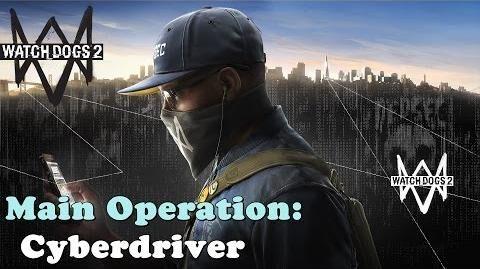 CyberDriver mission walkthrough