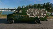 WD2 LandrockVan2500 Graffiti3