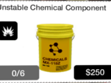 Unstable Chemical Component