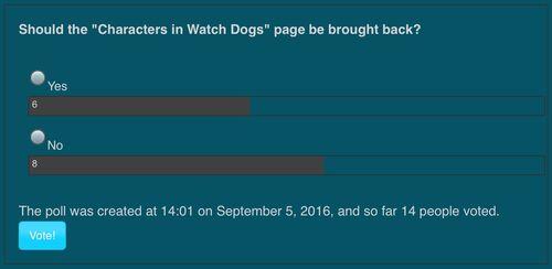 Poll 9/9/2016