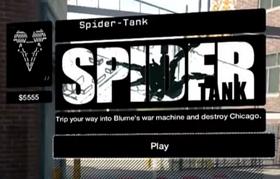 WD Spider-Tank