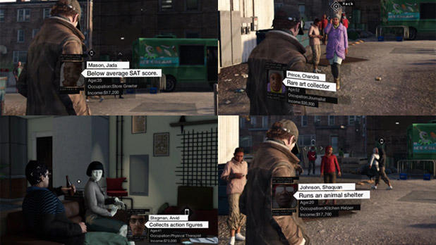 Female Playable Characters In Watch Dogs