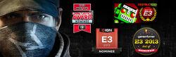 E3 2013 awards