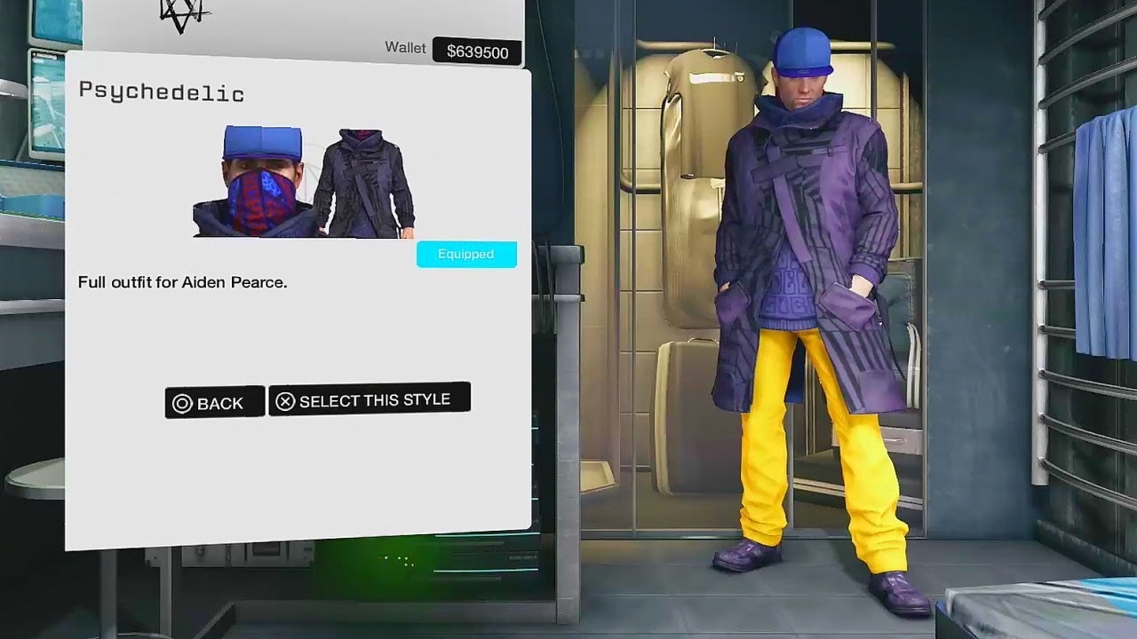 Psychedelic Clothing Watch Dogs Wiki Fandom Powered By Wikia