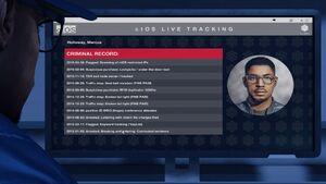 Marcus criminal record