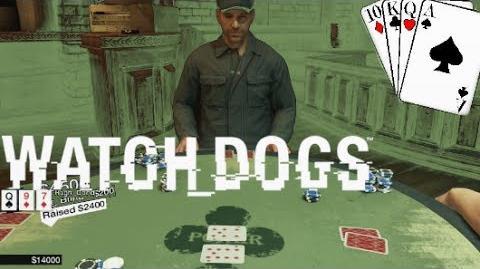 Watch dogs poker win card game polish poker