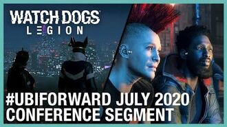 Watch Dogs Legion Ubisoft Forward Segment– July 2020 Ubisoft NA
