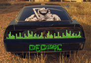 DedSec car rear