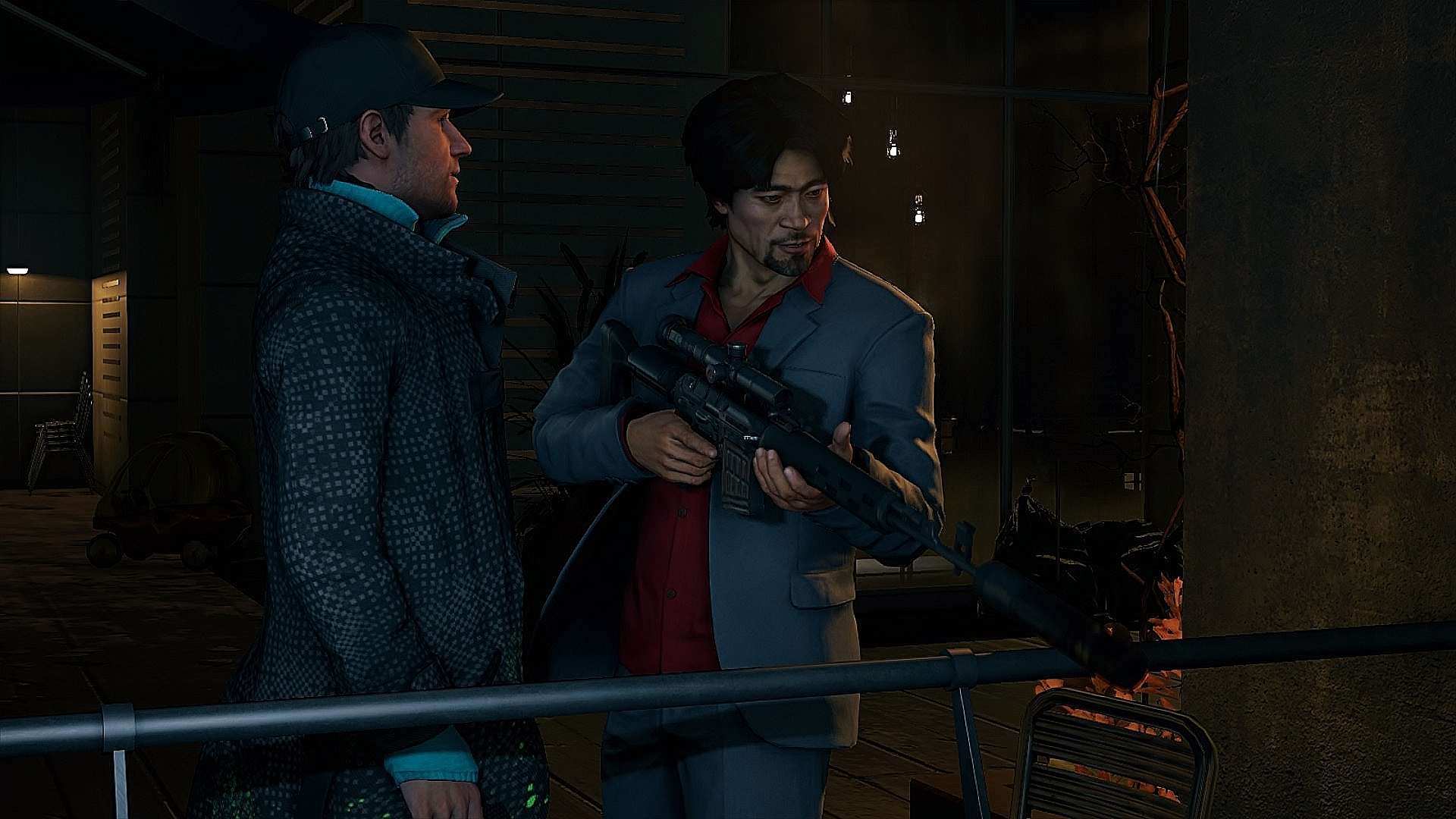 Watch Dogs  Gun Takedowns