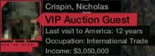 Aiden as Crispin