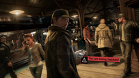 Aiden is being hacked, Watch Dogs