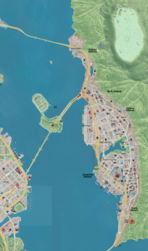 Map of Oakland WD2