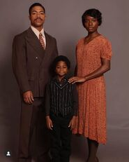Young Will with his parents