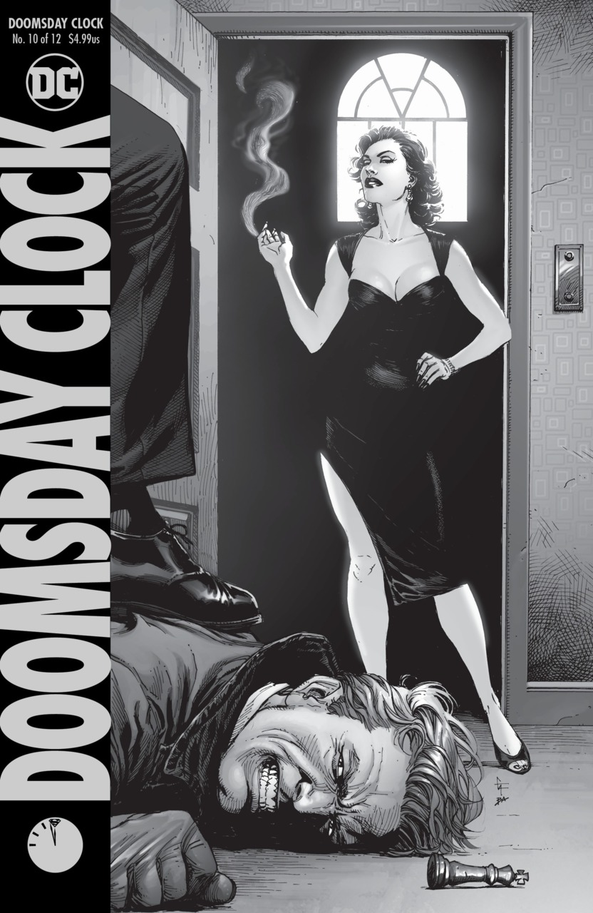 Doomsday Clock Series Watchmen Wiki Fandom