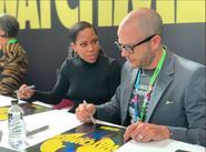 Autograph Signing Watchmen NYCC 2019 01