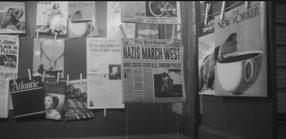 Newspapers on S1 E6