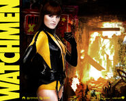 Silk Spectre Wallpaper