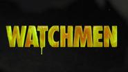 Watchmen logo like egg yolk in S 1 E 4