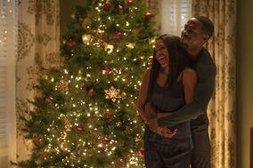 Angela and Cal Abar celebrate Christmas - Watchman (TV series)