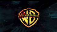 Warner Bros Television logo with blood
