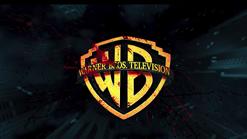 Warner Bros Television logo with blood