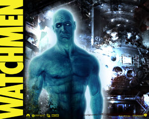 Doctor Manhattan Wallpaper
