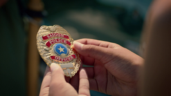 S1e7 saigon police badge