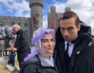 S1 E5 Little Fear of Lightning BTS with Sara Vickers and Tom Mison