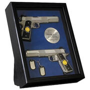 Guns and Dog Tags prop set