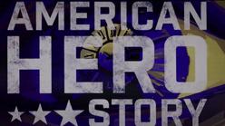 American Hero Story logo in S1 E6