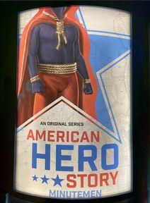 American Hero Story Poster