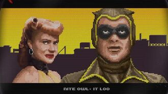 Watchmen, Minutemen Arcade Game